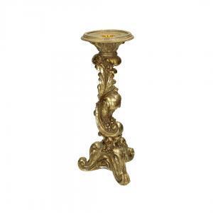Декоративный Подсвечник Золото, золотой, 31 см