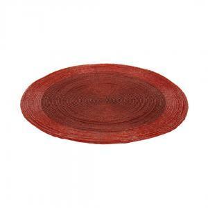 Плейсмат, красный, 35 см