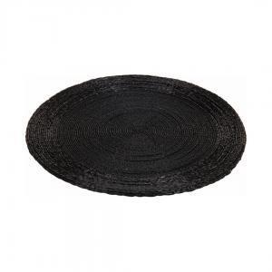 Плейсмат, черный, 35 см