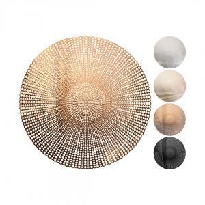 Плейсмат, золотой/черный/серебряный, 41 см